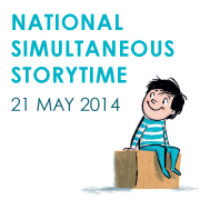 National Simultaneous Storytime - Wednesday May 21